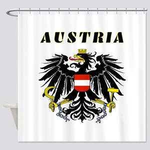 Austria Coat of arms Shower Curtain