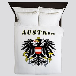 Austria Coat of arms Queen Duvet