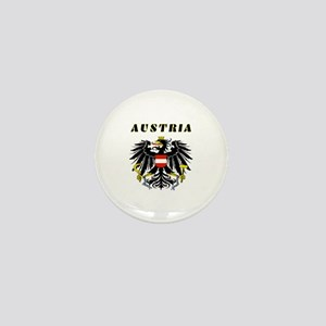 Austria Coat of arms Mini Button