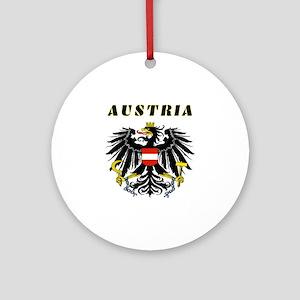 Austria Coat of arms Ornament (Round)