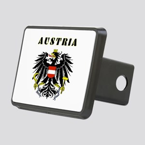 Austria Coat of arms Rectangular Hitch Cover
