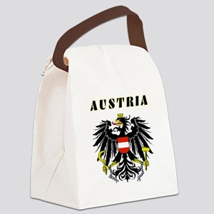 Austria Coat of arms Canvas Lunch Bag