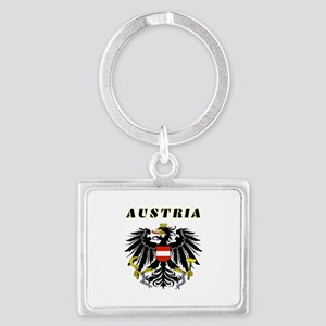 Austria Coat of arms Landscape Keychain