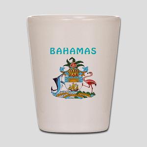 Bahamas Coat of arms Shot Glass