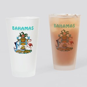 Bahamas Coat of arms Drinking Glass