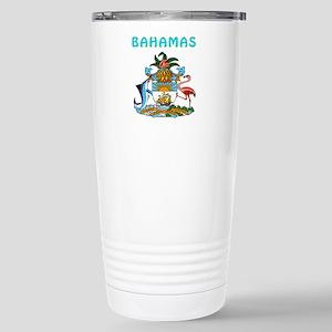 Bahamas Coat of arms Stainless Steel Travel Mug