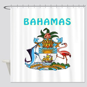 Bahamas Coat of arms Shower Curtain