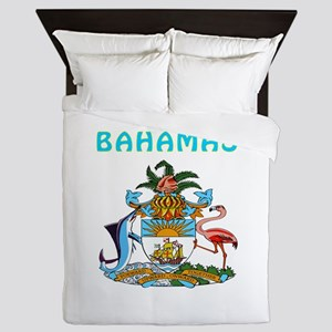 Bahamas Coat of arms Queen Duvet