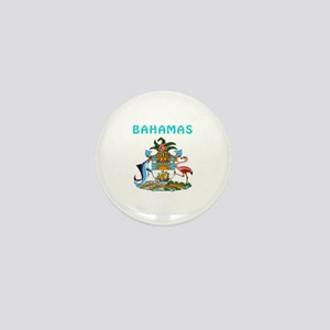 Bahamas Coat of arms Mini Button