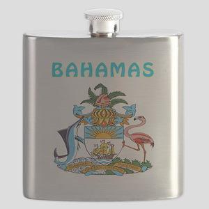 Bahamas Coat of arms Flask
