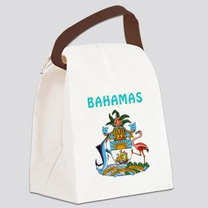 Bahamas Coat of arms Canvas Lunch Bag