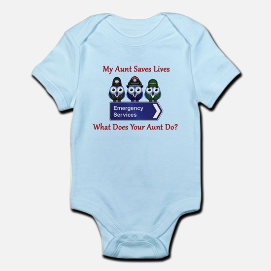 What Does Your Aunt Do? Infant Bodysuit