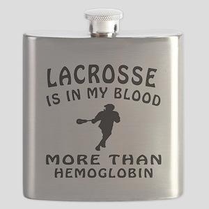 Lacrosse Designs Flask