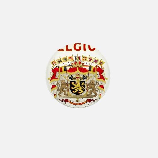 Belgium Coat of arms Mini Button
