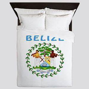 Belize Coat of arms Queen Duvet