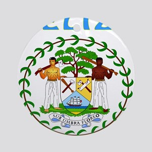 Belize Coat of arms Ornament (Round)