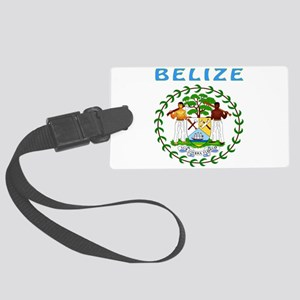 Belize Coat of arms Large Luggage Tag