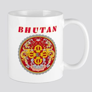 Bhutan Coat of arms Mug
