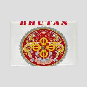 Bhutan Coat of arms Rectangle Magnet