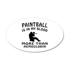 Paintball Designs Wall Decal