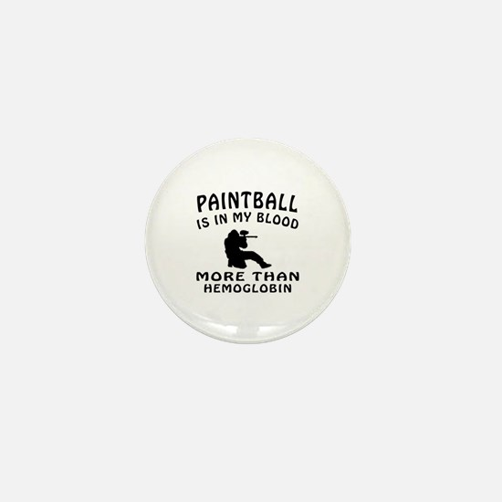 Paintball Designs Mini Button