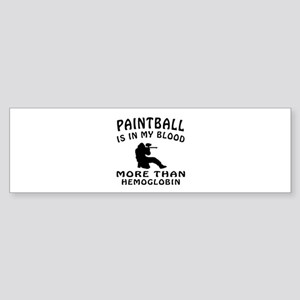 Paintball Designs Sticker (Bumper)