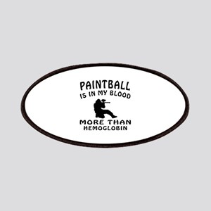 Paintball Designs Patches
