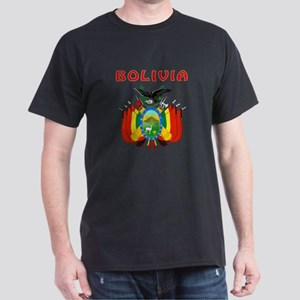 Bolivia Coat of arms Dark T-Shirt