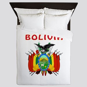 Bolivia Coat of arms Queen Duvet