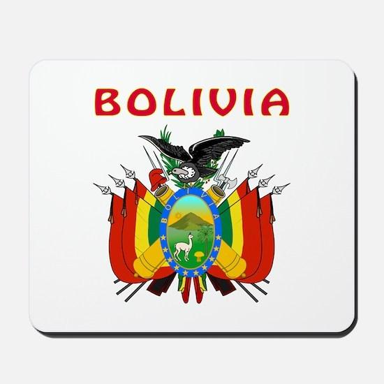 Bolivia Coat of arms Mousepad