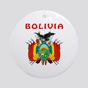 Bolivia Coat of arms Ornament (Round)