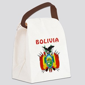 Bolivia Coat of arms Canvas Lunch Bag