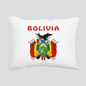 Bolivia Coat of arms Rectangular Canvas Pillow