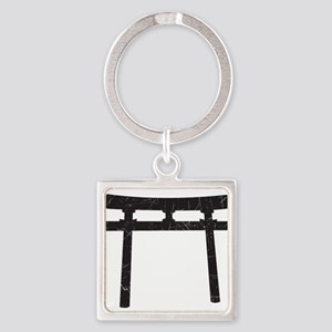 Shinto Arch Square Keychain