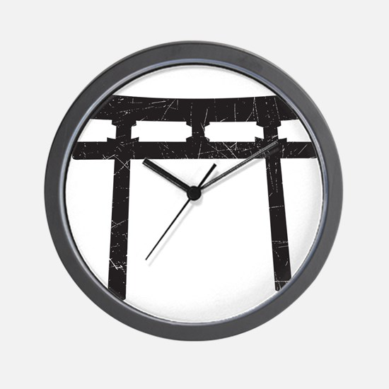 Shinto Arch Wall Clock
