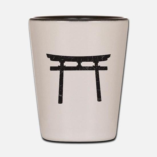 Shinto Arch Shot Glass