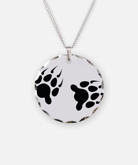 Bear Tracks Necklace