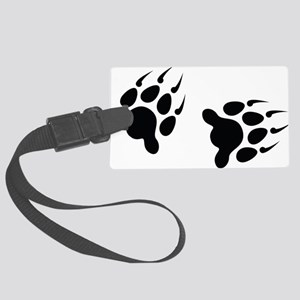 Bear Tracks Large Luggage Tag