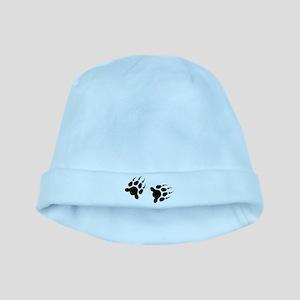 Bear Tracks baby hat