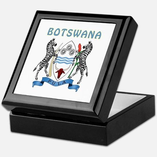 Botswana Coat of arms Keepsake Box