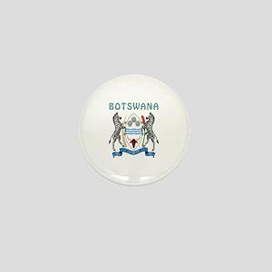Botswana Coat of arms Mini Button