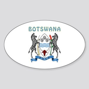 Botswana Coat of arms Sticker (Oval)