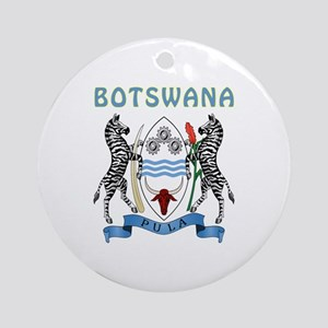 Botswana Coat of arms Ornament (Round)