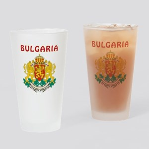 Bulgaria Coat of arms Drinking Glass