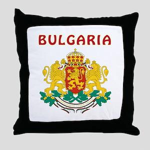 Bulgaria Coat of arms Throw Pillow