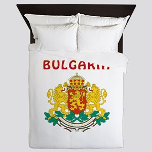 Bulgaria Coat of arms Queen Duvet