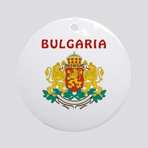 Bulgaria Coat of arms Ornament (Round)