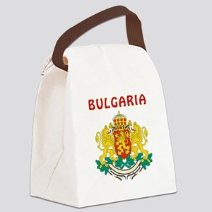 Bulgaria Coat of arms Canvas Lunch Bag