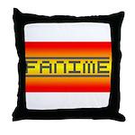 Fanime Throw Pillow