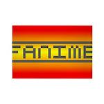 Fanime Rectangle Magnet (100 pack)